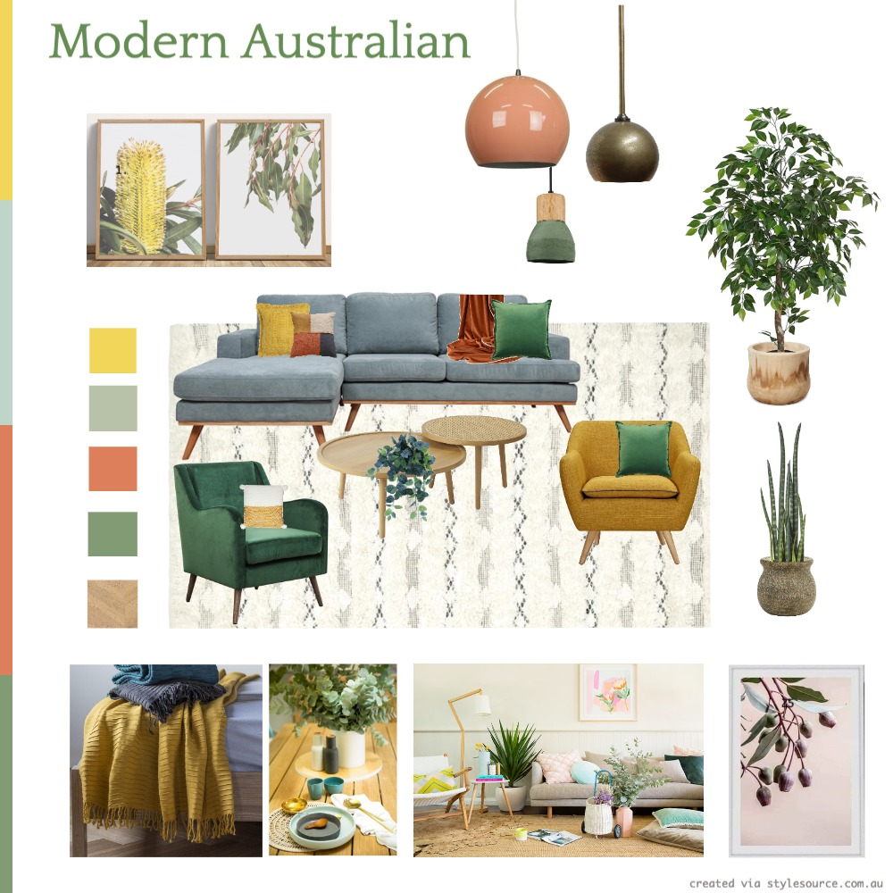 Australian Modern Interior Design Mood Board by Emblem87 on Style Sourcebook