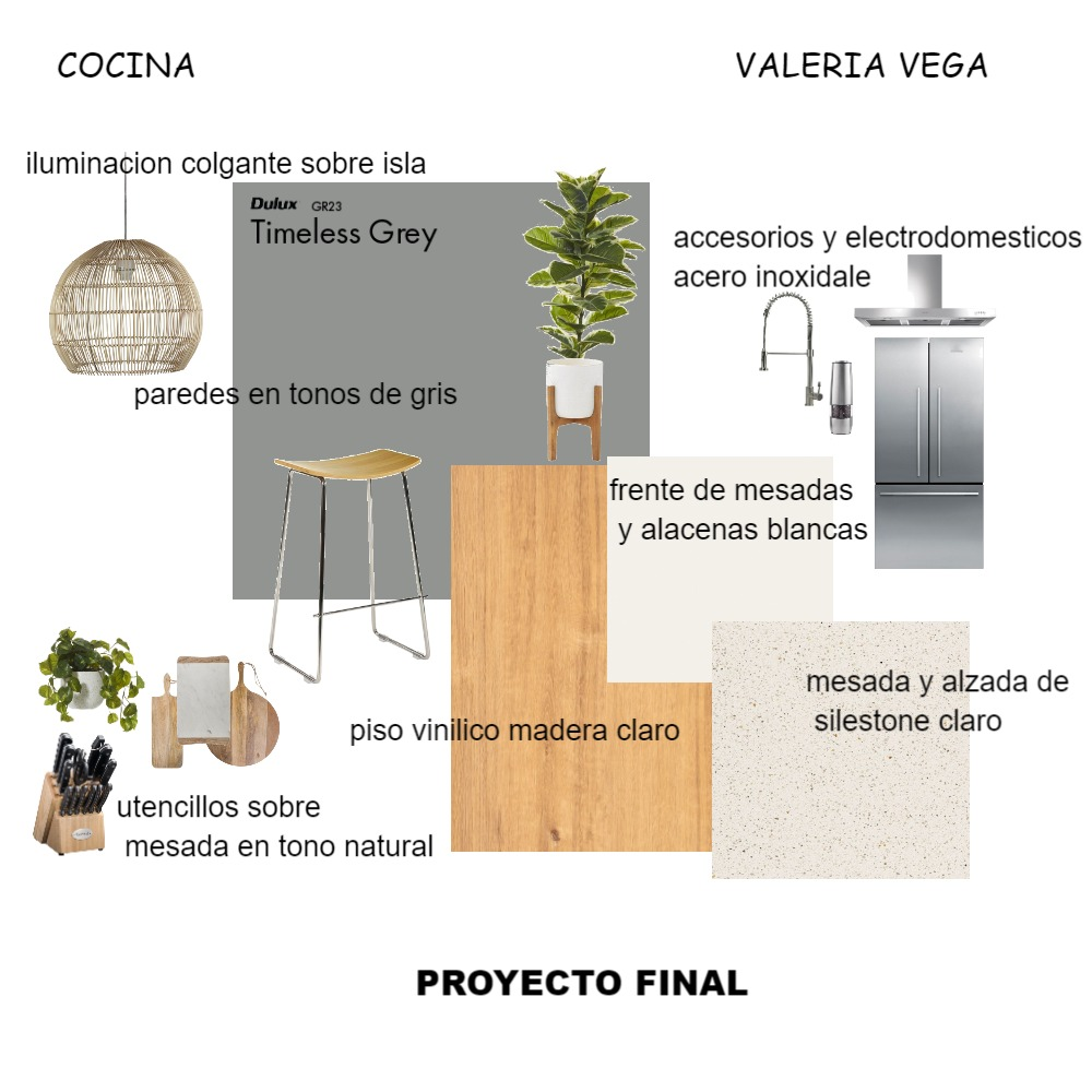 proyecto final -cocina- Interior Design Mood Board by Valeria Vega on Style Sourcebook