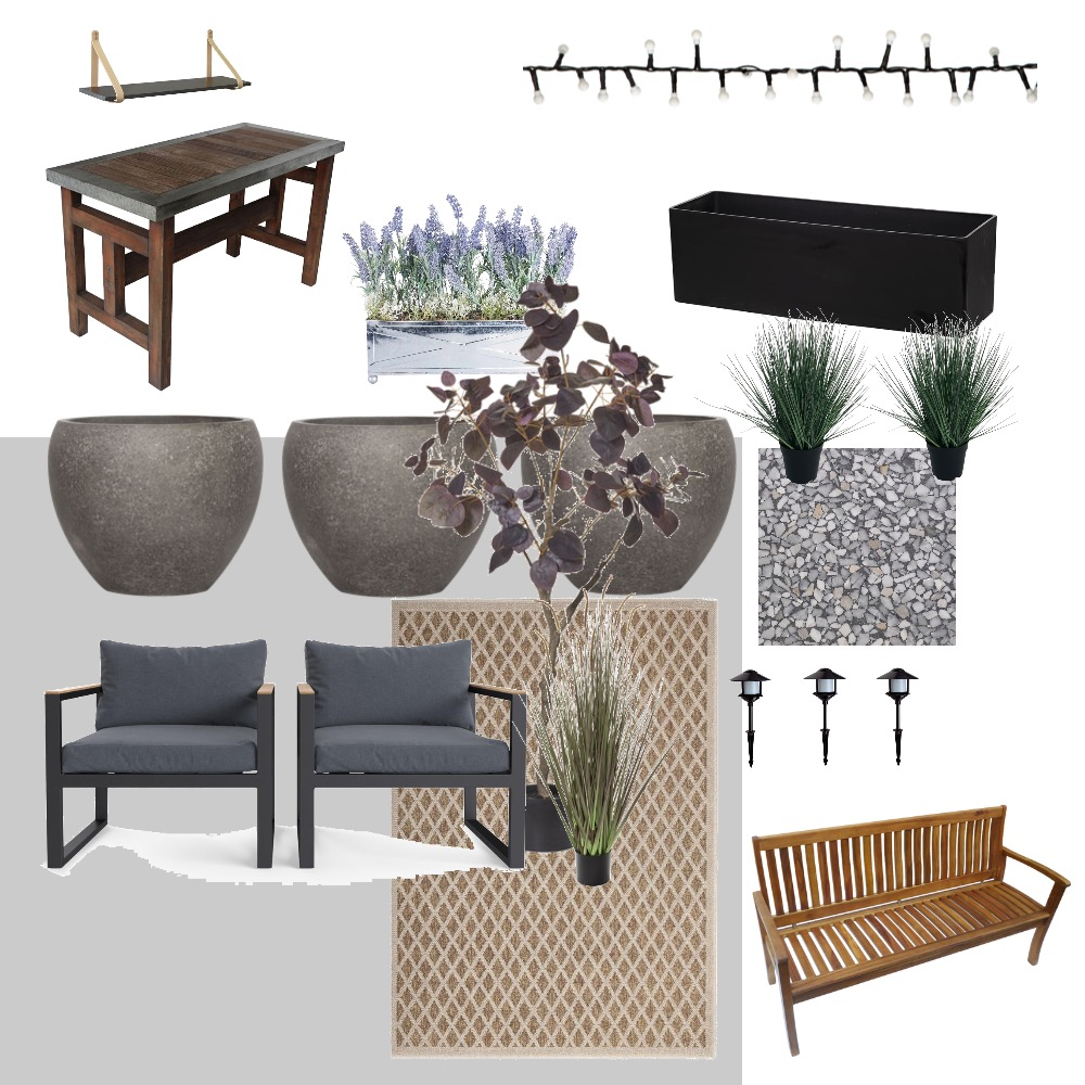 backyard Interior Design Mood Board by NDWong on Style Sourcebook
