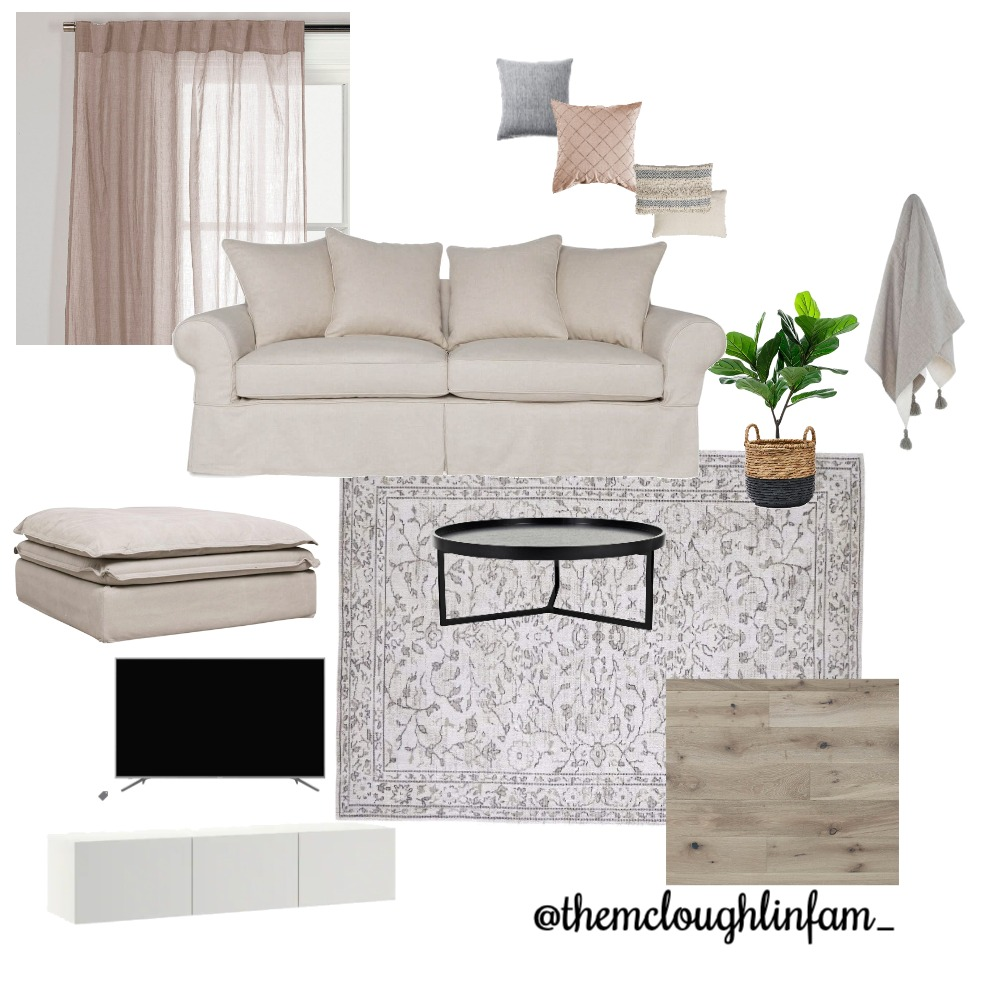 Living Room Interior Design Mood Board by themcloughlinfam_ on Style Sourcebook
