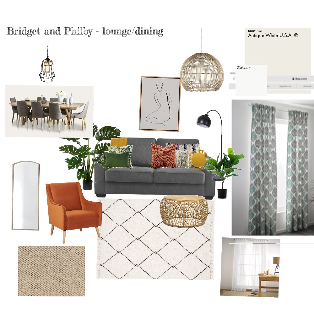 Bridget and Philby Interior Design Mood Board by Louise Butler on Style Sourcebook