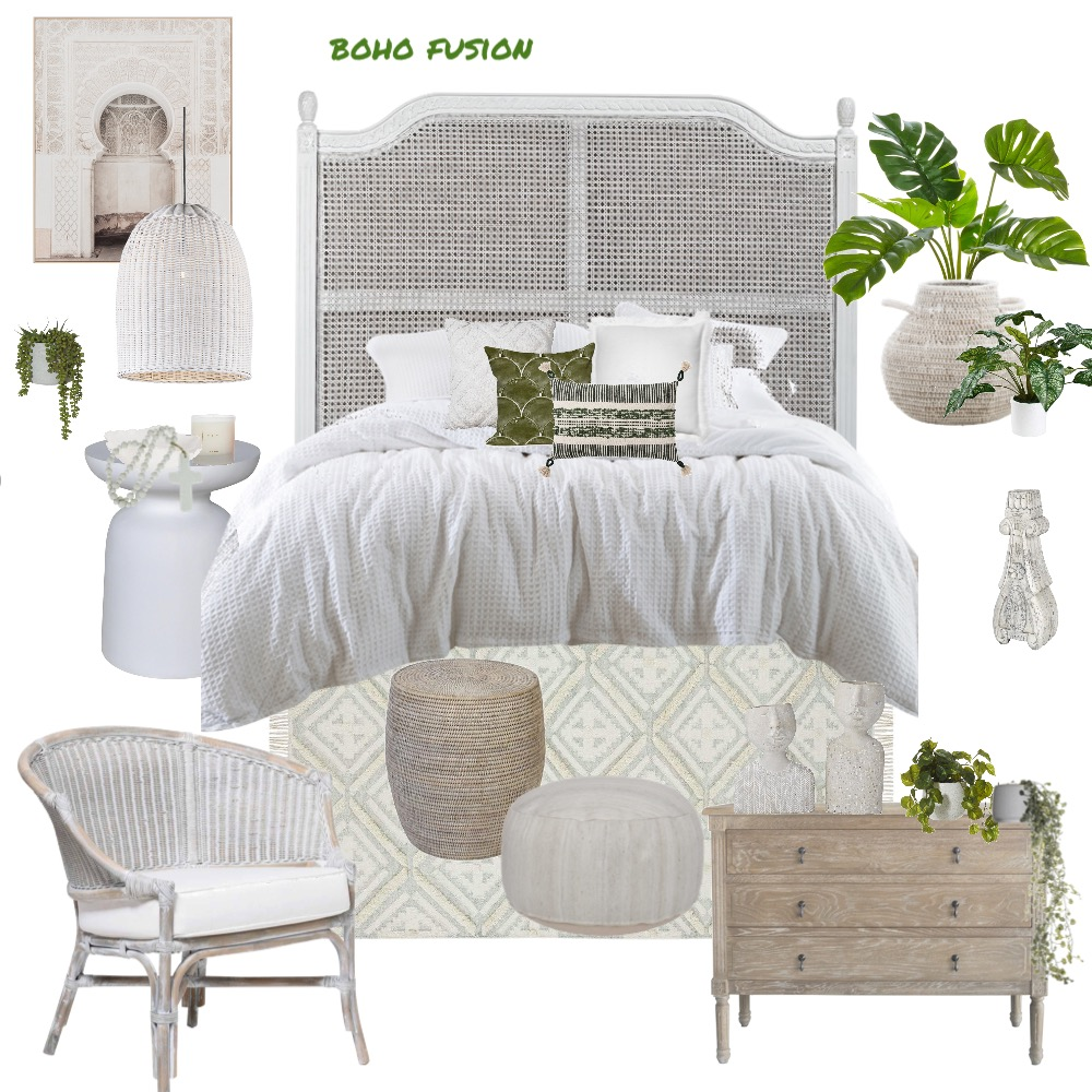Bohofusion Interior Design Mood Board by Stylefusion on Style Sourcebook