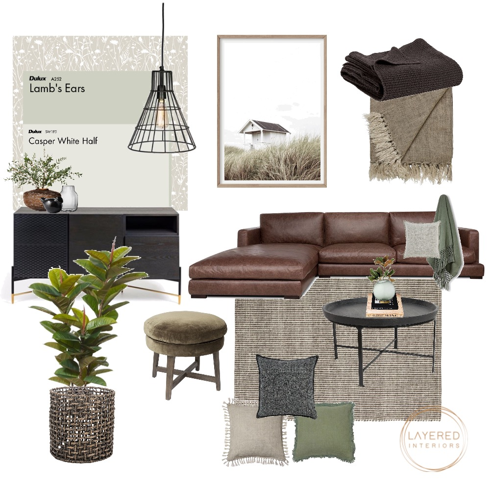 Relaxed Living Interior Design Mood Board by JulesHurd on Style Sourcebook