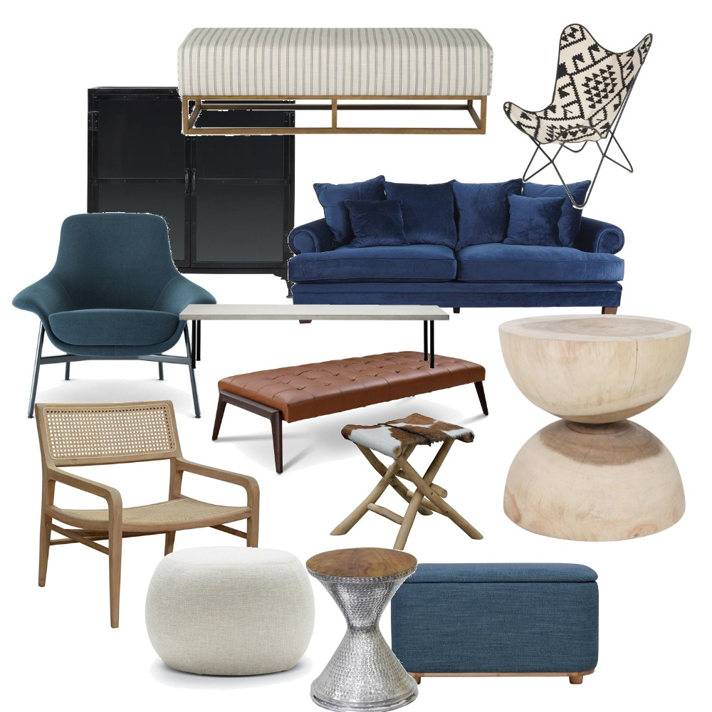 Chairs Interior Design Mood Board by Noviana's Interiors on Style Sourcebook