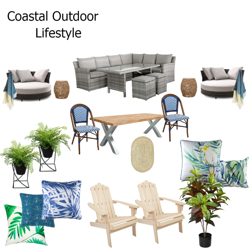 Coastal outdoor lifestyle Interior Design Mood Board by Rustic Blue Interiors on Style Sourcebook