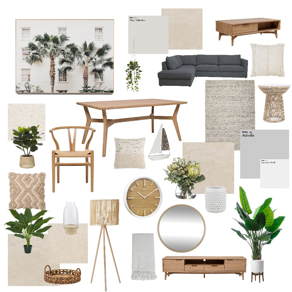 Living Area Interior Design Mood Board by Danniellesara on Style Sourcebook
