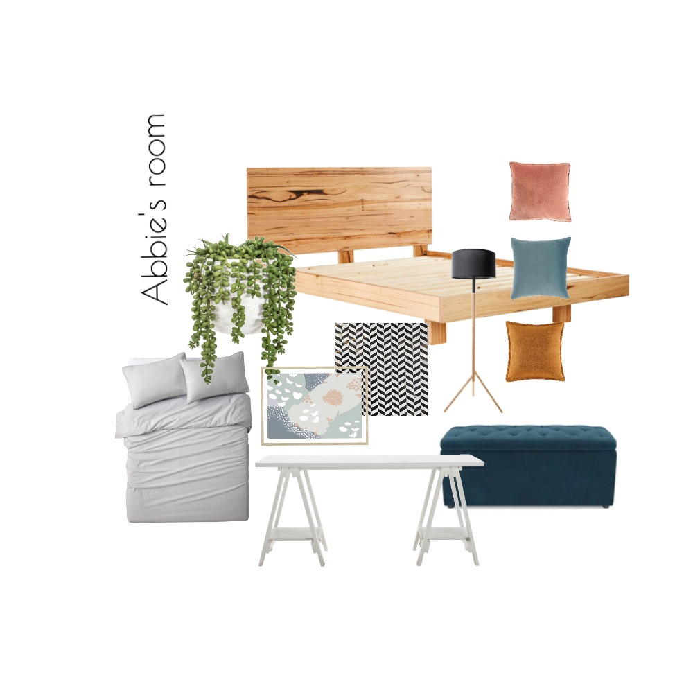 Abbie's room Interior Design Mood Board by abbiej on Style Sourcebook