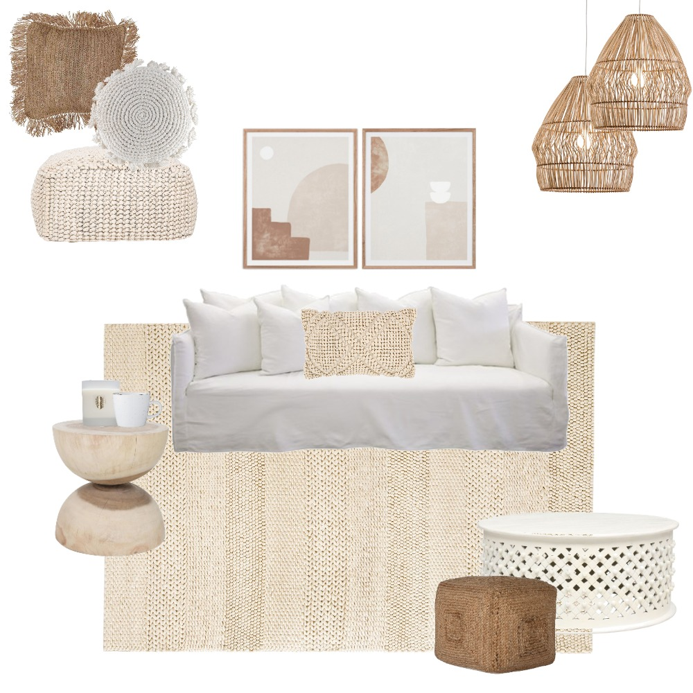 New Neutrals Interior Design Mood Board by Vienna Rose Styling on Style Sourcebook