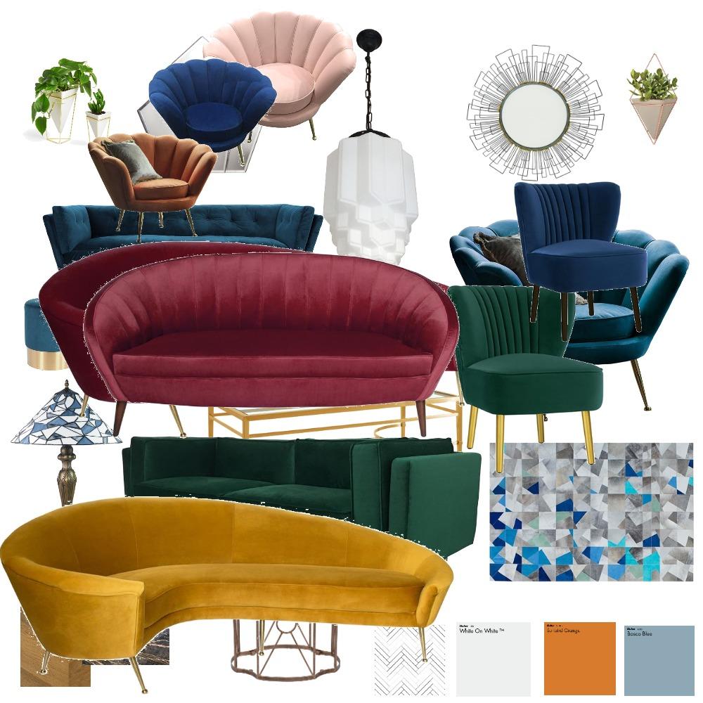 Contemp. Art Deco Interior Design Mood Board by CathyWardNZ on Style Sourcebook