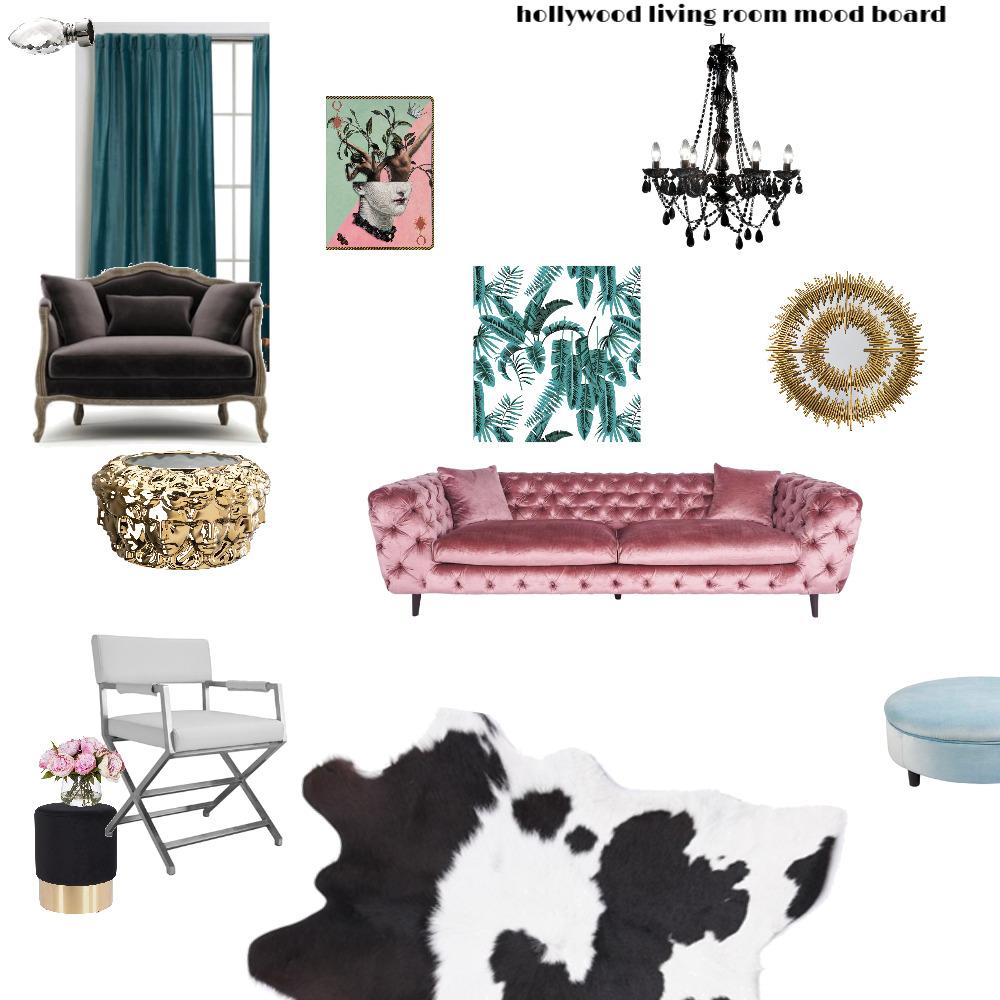hollywood livingroom Interior Design Mood Board by maisonlatour on Style Sourcebook