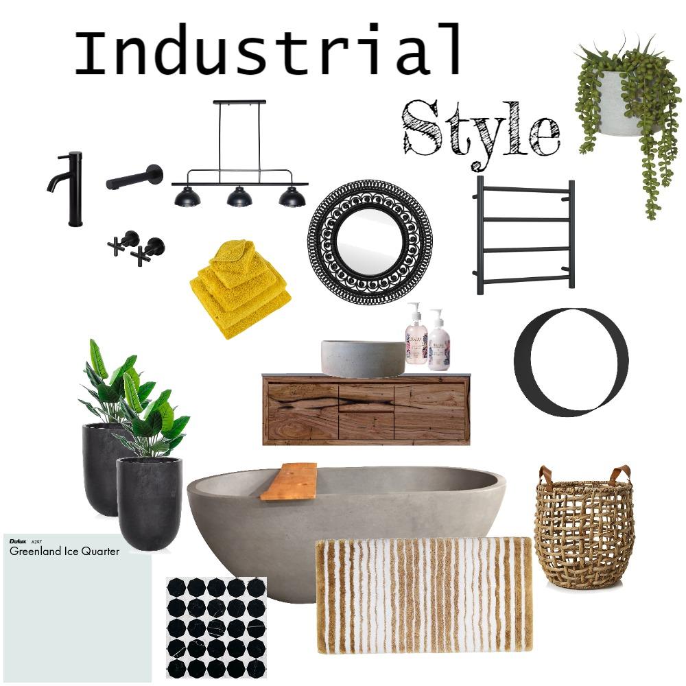 industrial Interior Design Mood Board by Wilson on Style Sourcebook