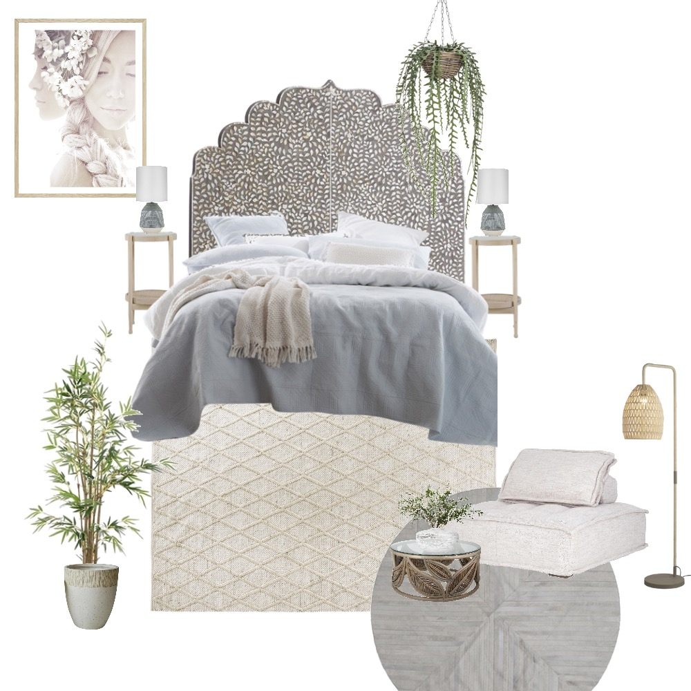 Boho luxe Interior Design Mood Board by Simplestyling on Style Sourcebook