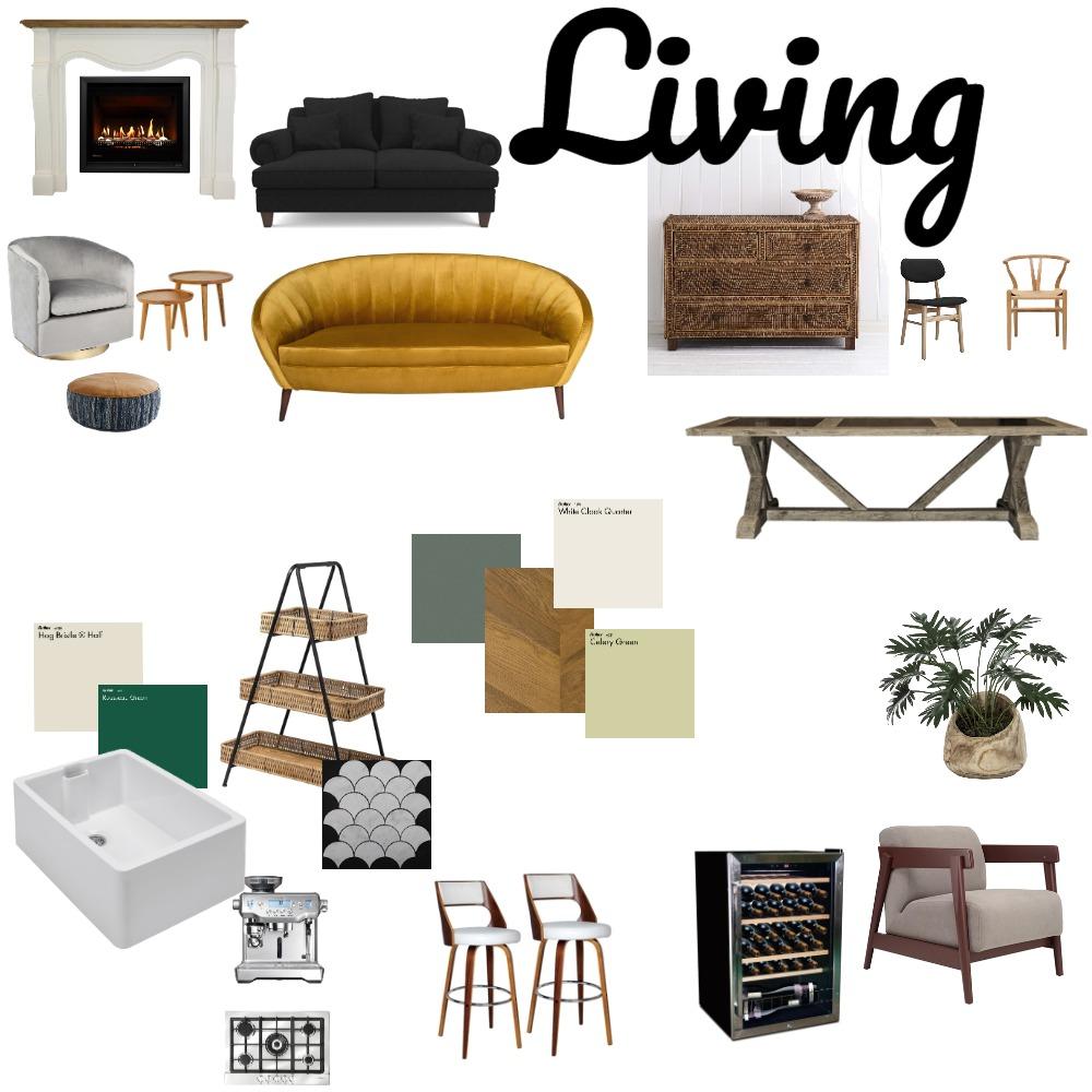 Open Plan Living Plasturton Interior Design Mood Board by Clodagh on Style Sourcebook
