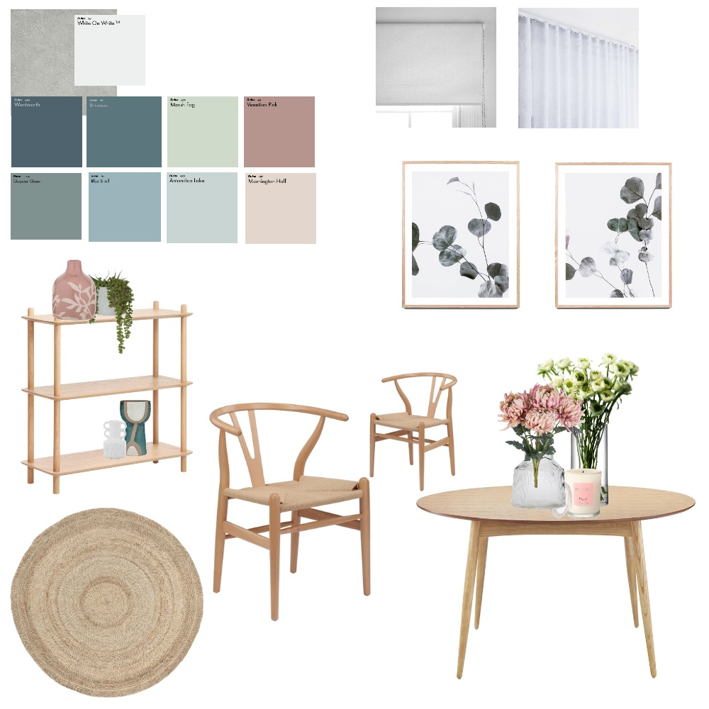 Dining Interior Design Mood Board by Amy's style on Style Sourcebook