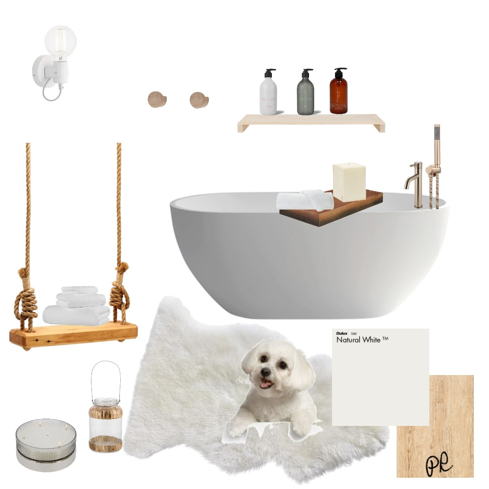 White Bathroom Interior Design Mood Board by Polina on Style Sourcebook
