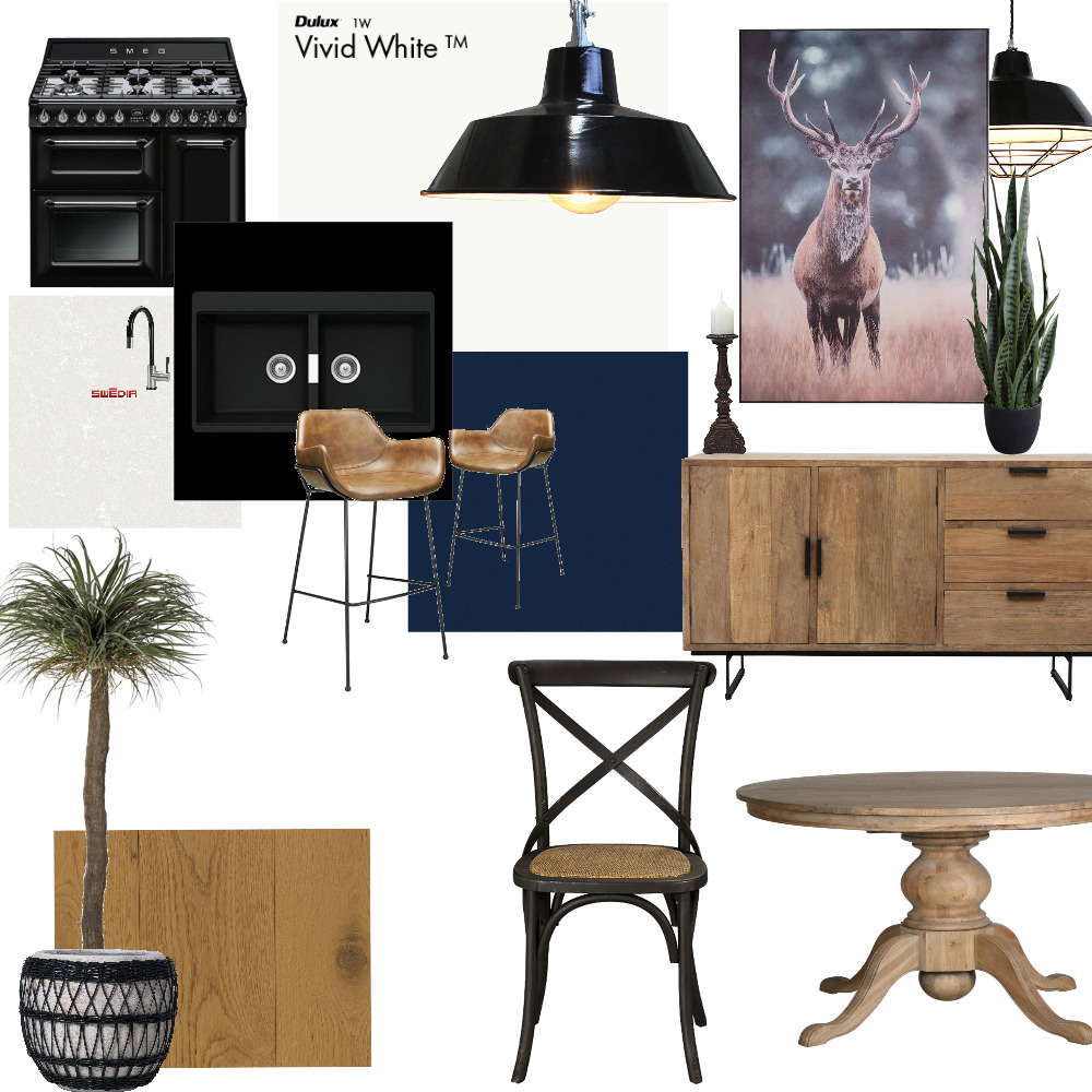 Authoringa Kitchen/Dining Interior Design Mood Board by KristyC on Style Sourcebook
