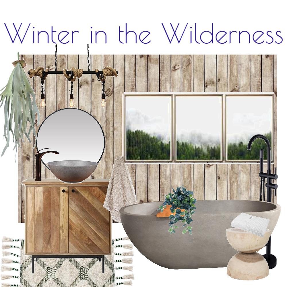 Winter Wilderness Bathroom Interior Design Mood Board by Kohesive on Style Sourcebook
