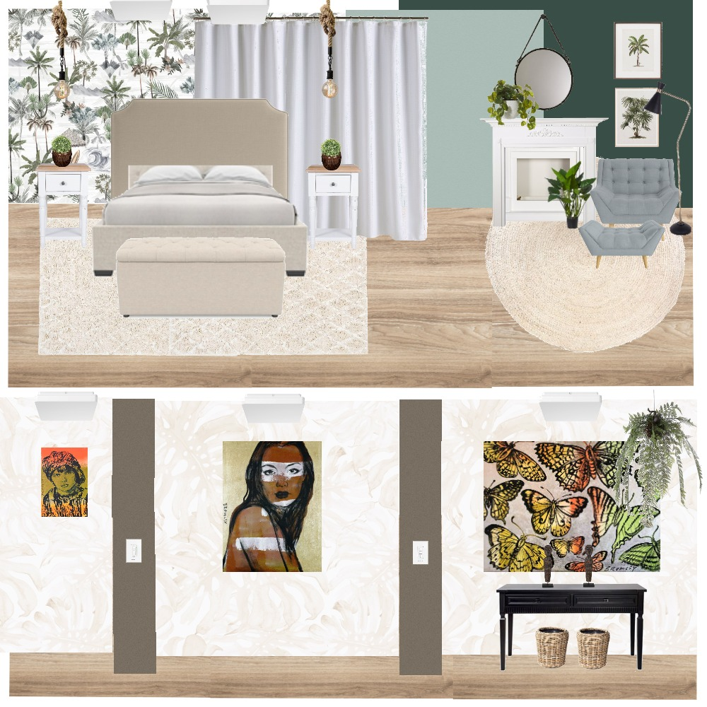 JOSH & SAMANTHA - BIOPHILIC 5 Interior Design Mood Board by caroliiners on Style Sourcebook