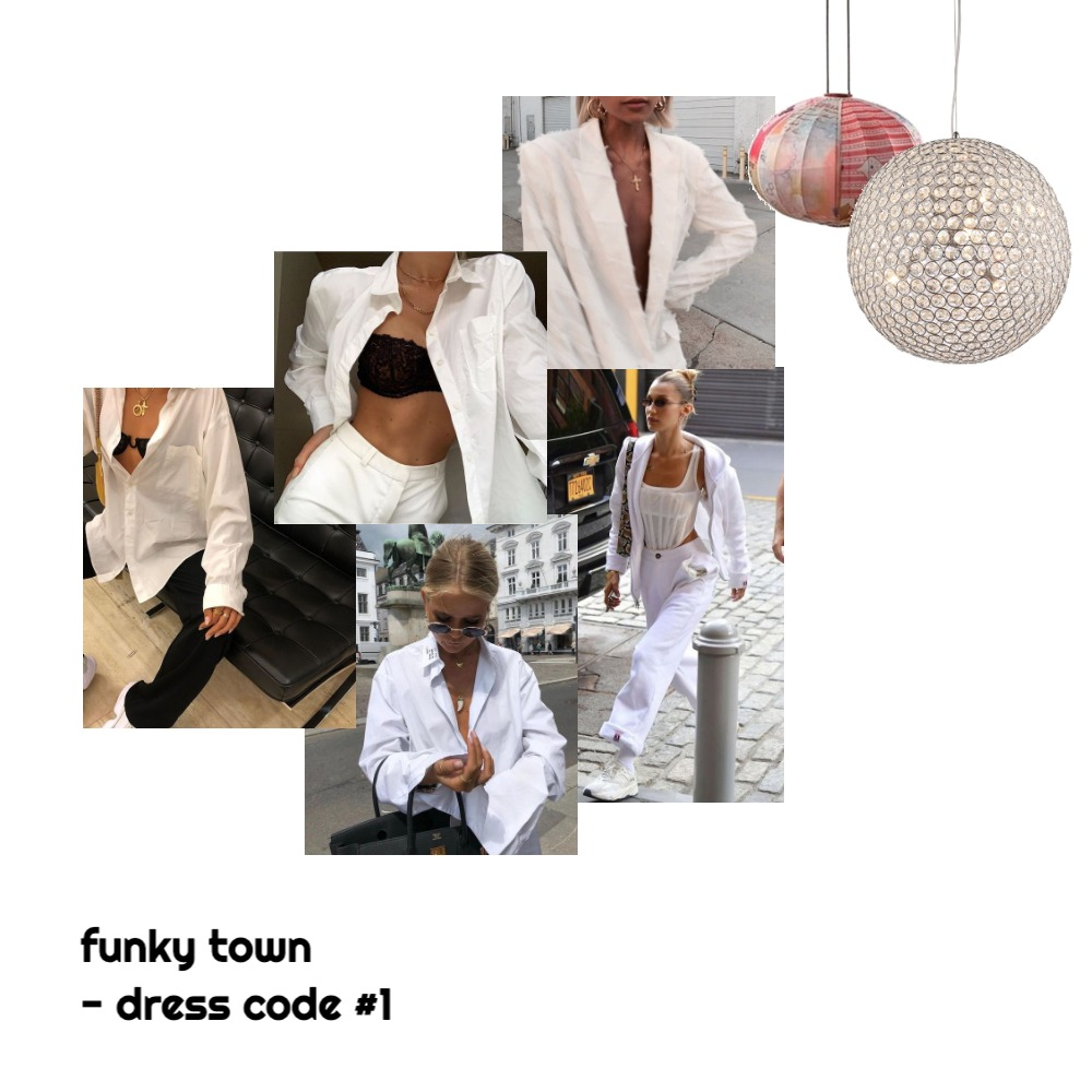 funky town - dress code #1 Interior Design Mood Board by dakotashae on Style Sourcebook