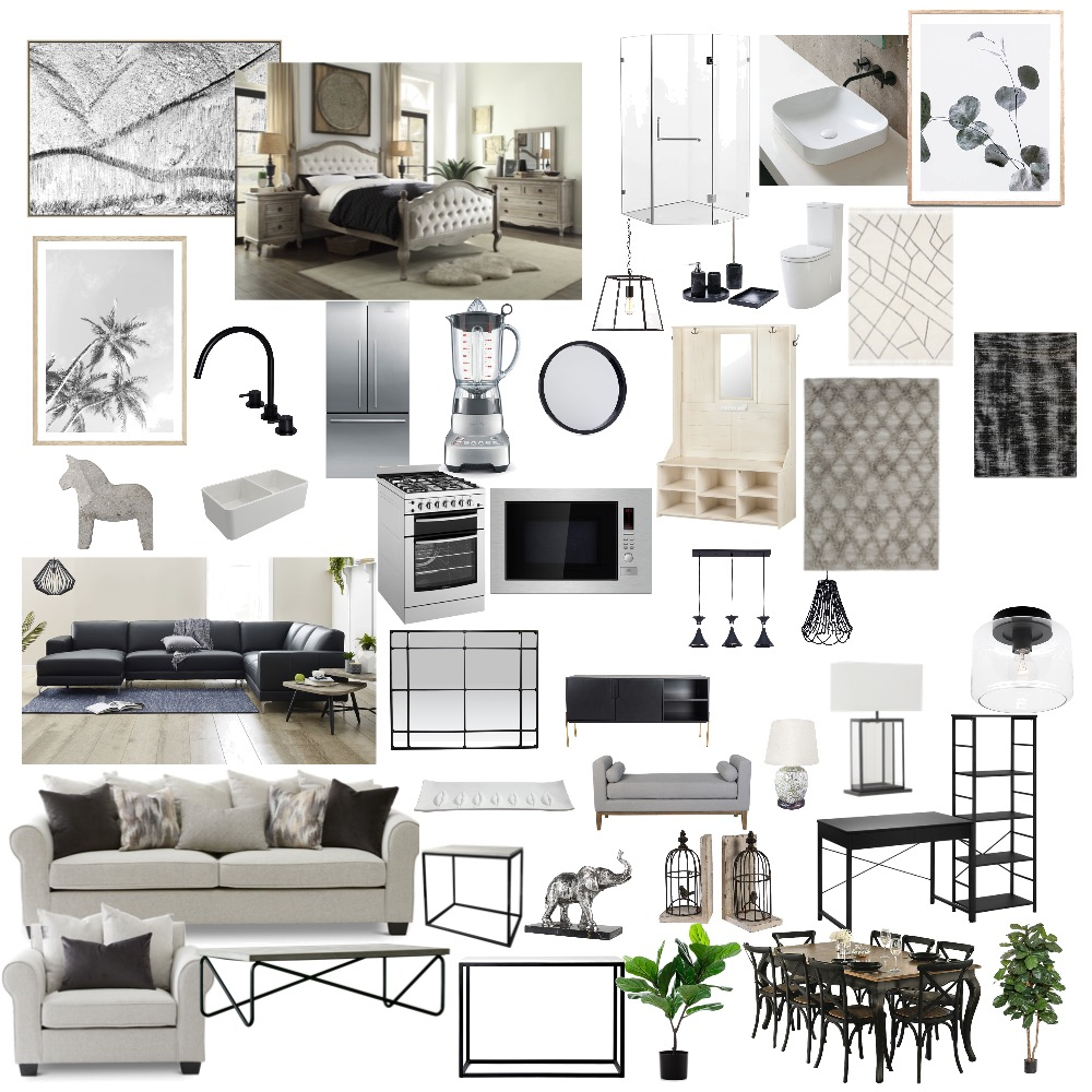 Module 6 Interior Design Mood Board by Mickayla.johnson93 on Style Sourcebook