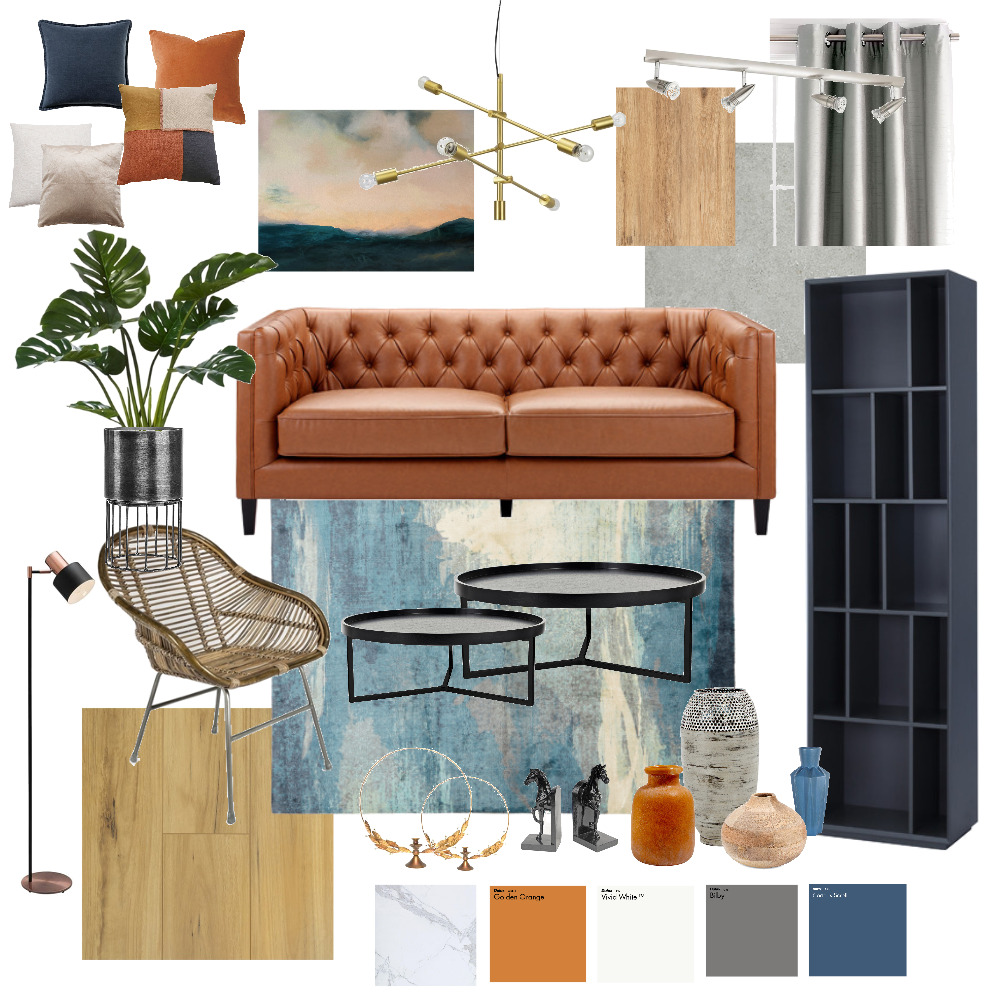 The Essence of Twilight Interior Design Mood Board by nrnsyf on Style Sourcebook
