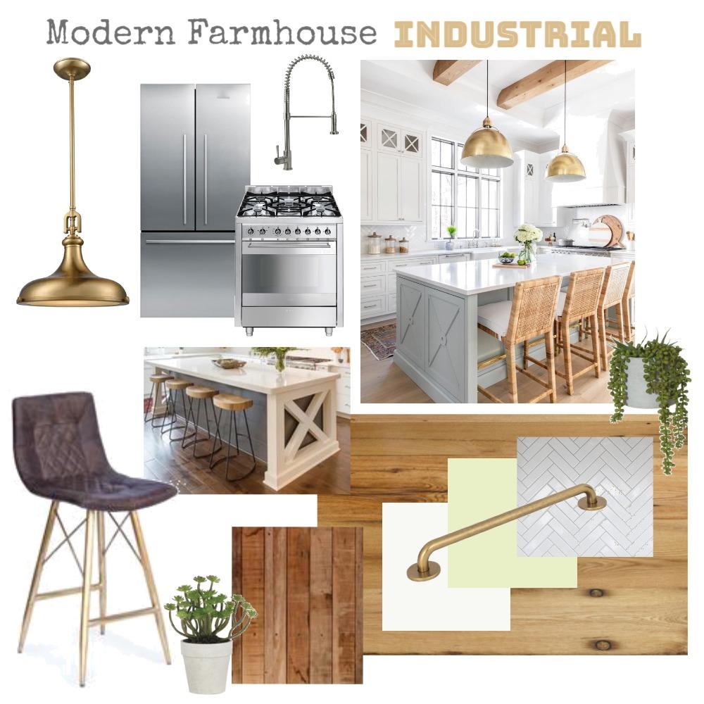 Kitchen - Modern Farmhouse Industrial Interior Design Mood Board by adeabreu on Style Sourcebook