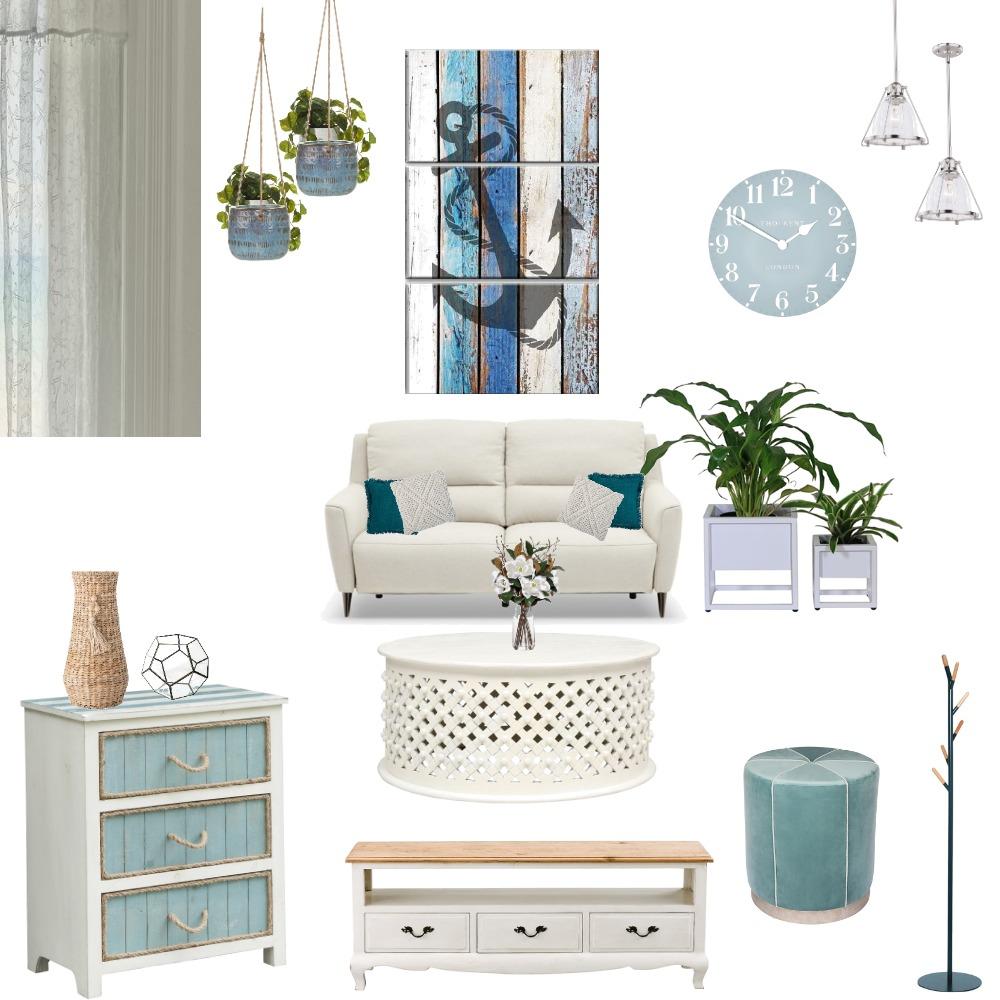 coastal Interior Design Mood Board by Mahima inbamani on Style Sourcebook