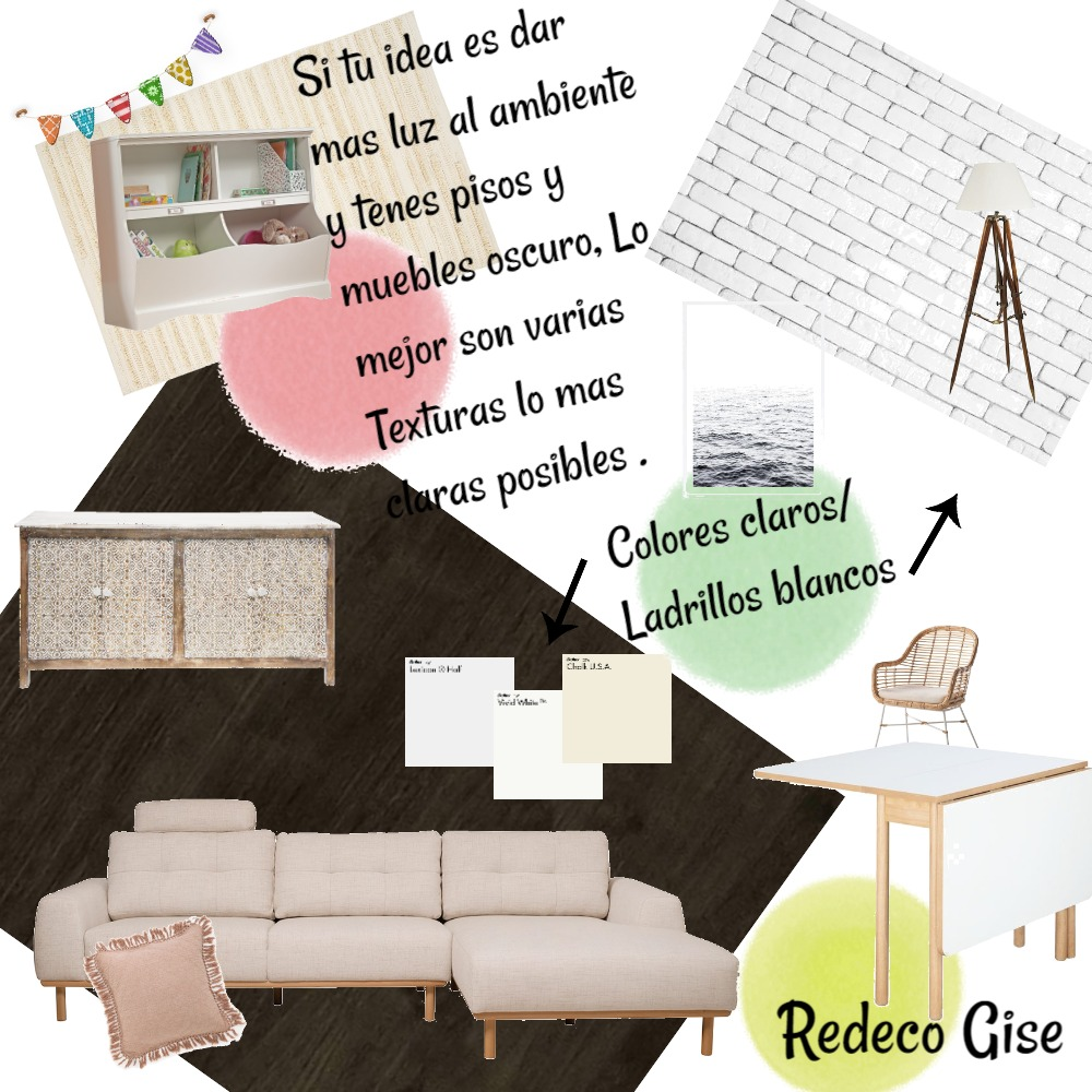 Redeco Gise Interior Design Mood Board by Laura Marques on Style Sourcebook