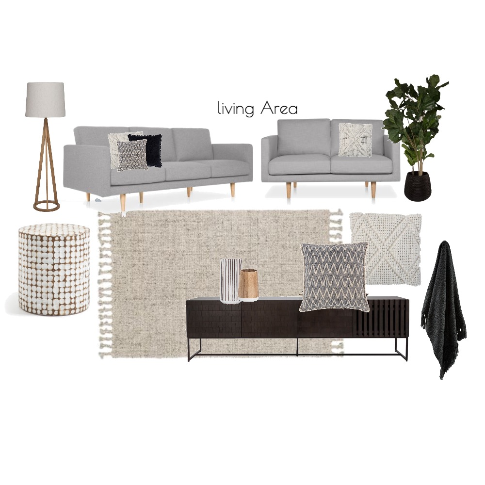 sam living area Interior Design Mood Board by angeliquewhitehouse on Style Sourcebook