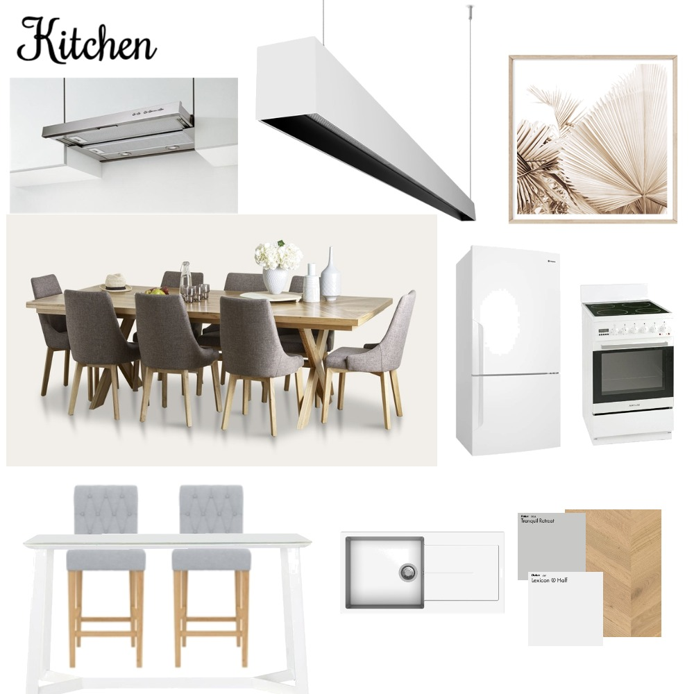 Kitchen Interior Design Mood Board by minacreate | interiors on Style Sourcebook