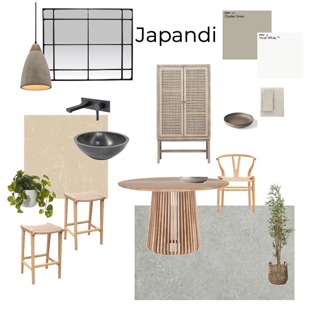 Japandi Interior Design Mood Board by SH17 on Style Sourcebook