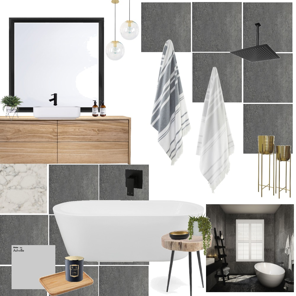 bathroom Interior Design Mood Board by Brittany on Style Sourcebook