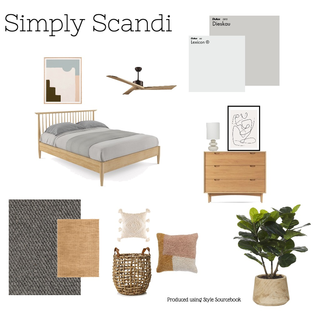 Simply Scandi Interior Design Mood Board by Kyles on Style Sourcebook