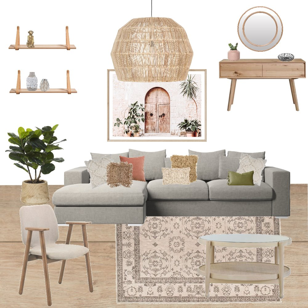BOHO STYLE Interior Design Mood Board by Nbs interiores on Style Sourcebook