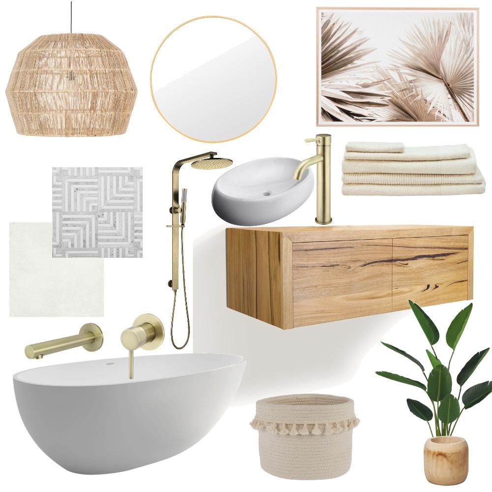 Bathroom Style Interior Design Mood Board by Lisa Olfen on Style Sourcebook