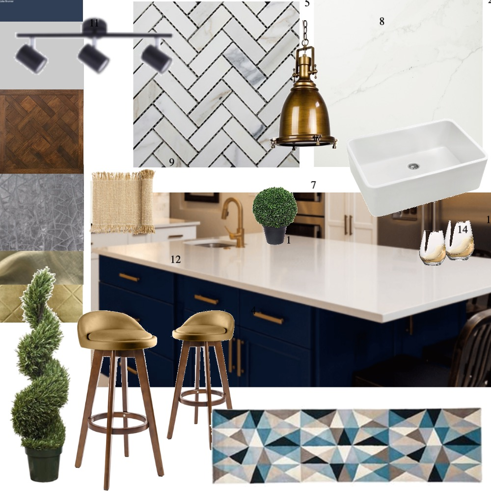 Kitchen Interior Design Mood Board by elylouise on Style Sourcebook