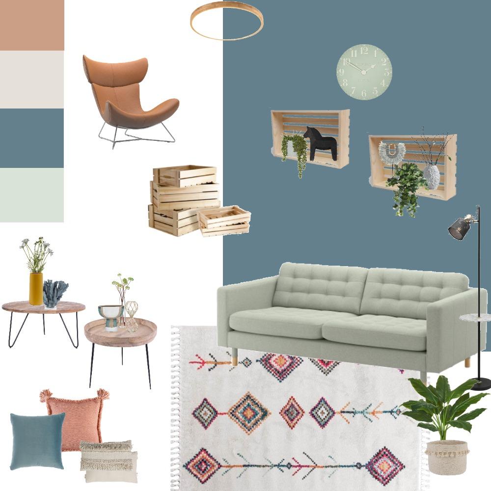 סלון Interior Design Mood Board by renanahuminer on Style Sourcebook