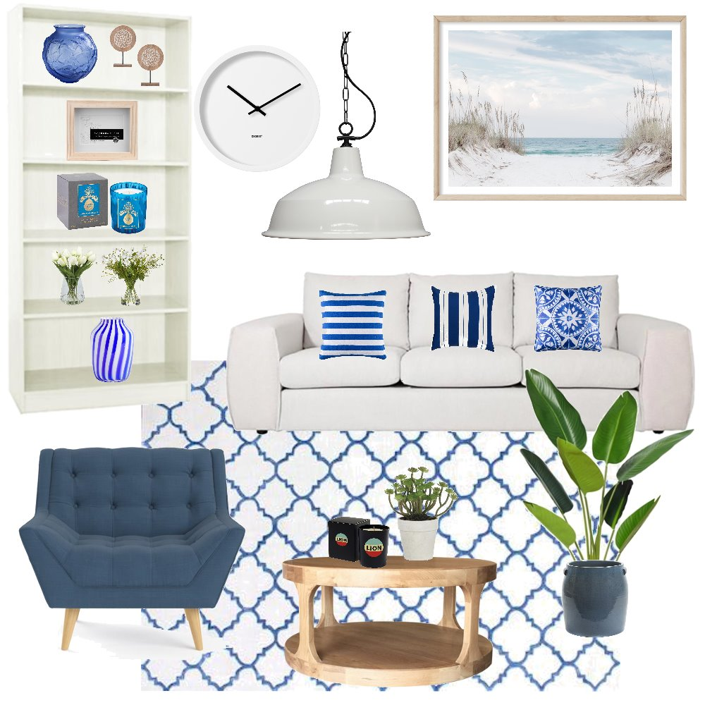 Hamptons inspired mood board Interior Design Mood Board by susan0503 on Style Sourcebook