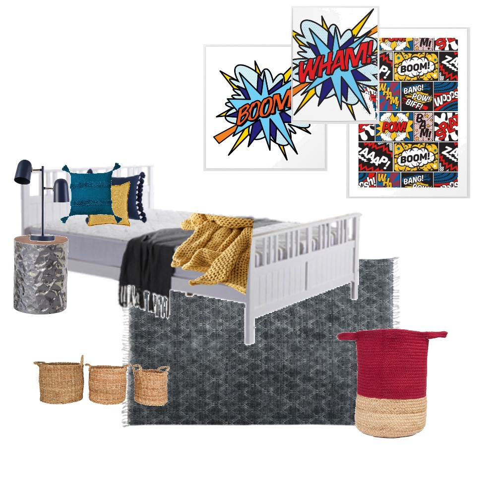 Flynn's room Interior Design Mood Board by Staged By Flynn on Style Sourcebook