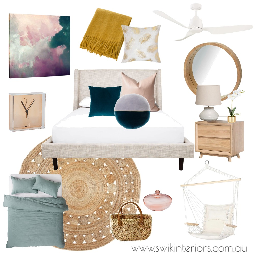Scandi inspired bedroom Mood Board by SWIK Interiors on Style Sourcebook