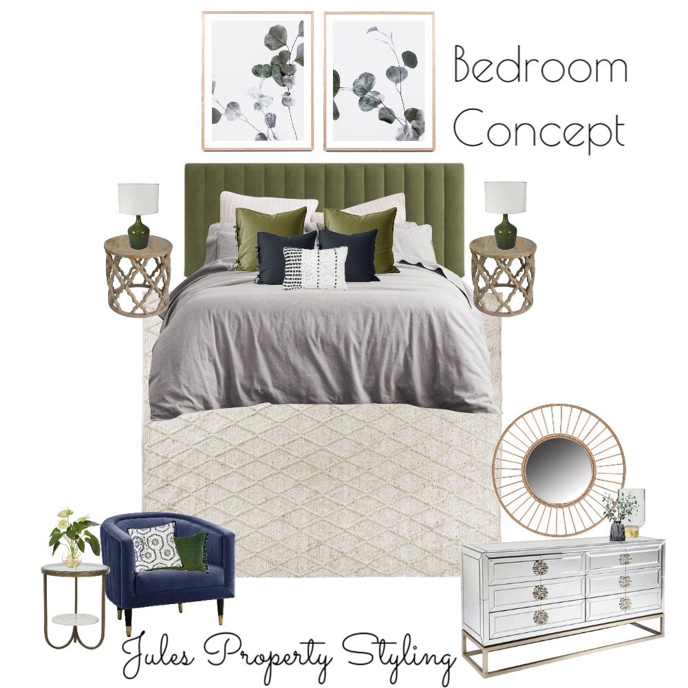 Bedroom Concept Interior Design Mood Board by Juliebeki on Style Sourcebook