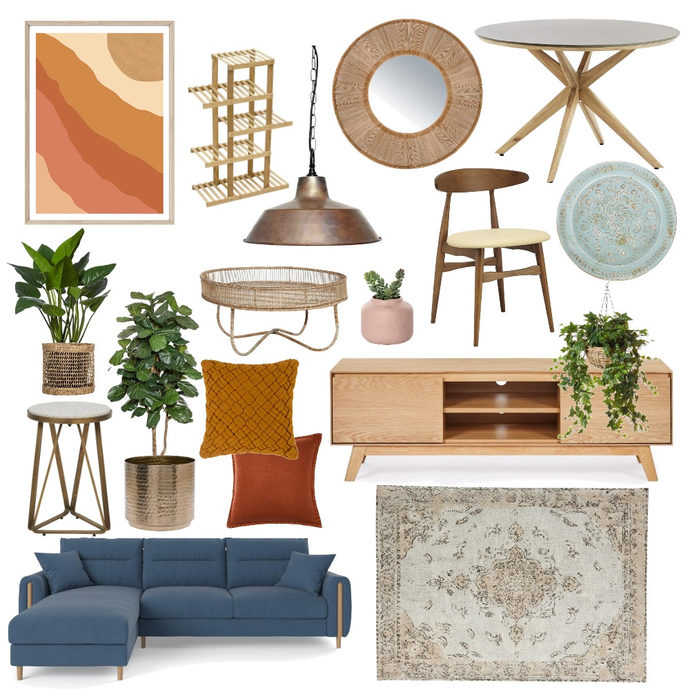 Dining and Living Room Interior Design Mood Board by ymagoo on Style Sourcebook