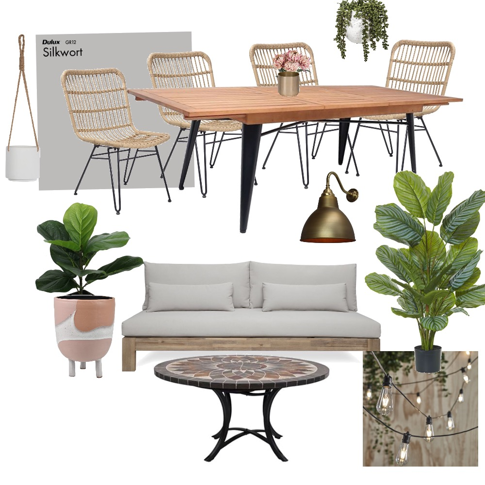 Outdoor area Interior Design Mood Board by htunstill on Style Sourcebook