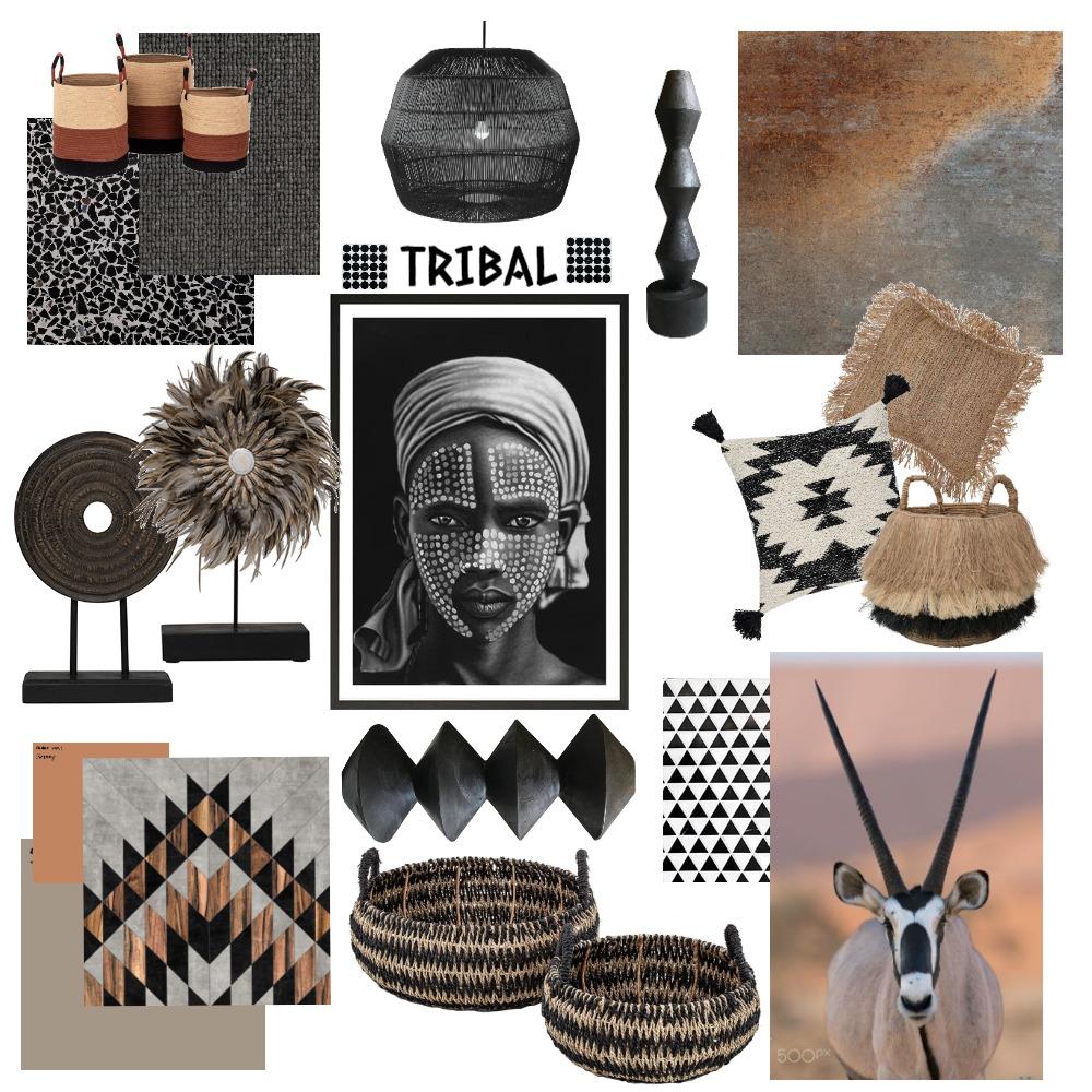 tribal Interior Design Mood Board by georgiamurphy on Style Sourcebook