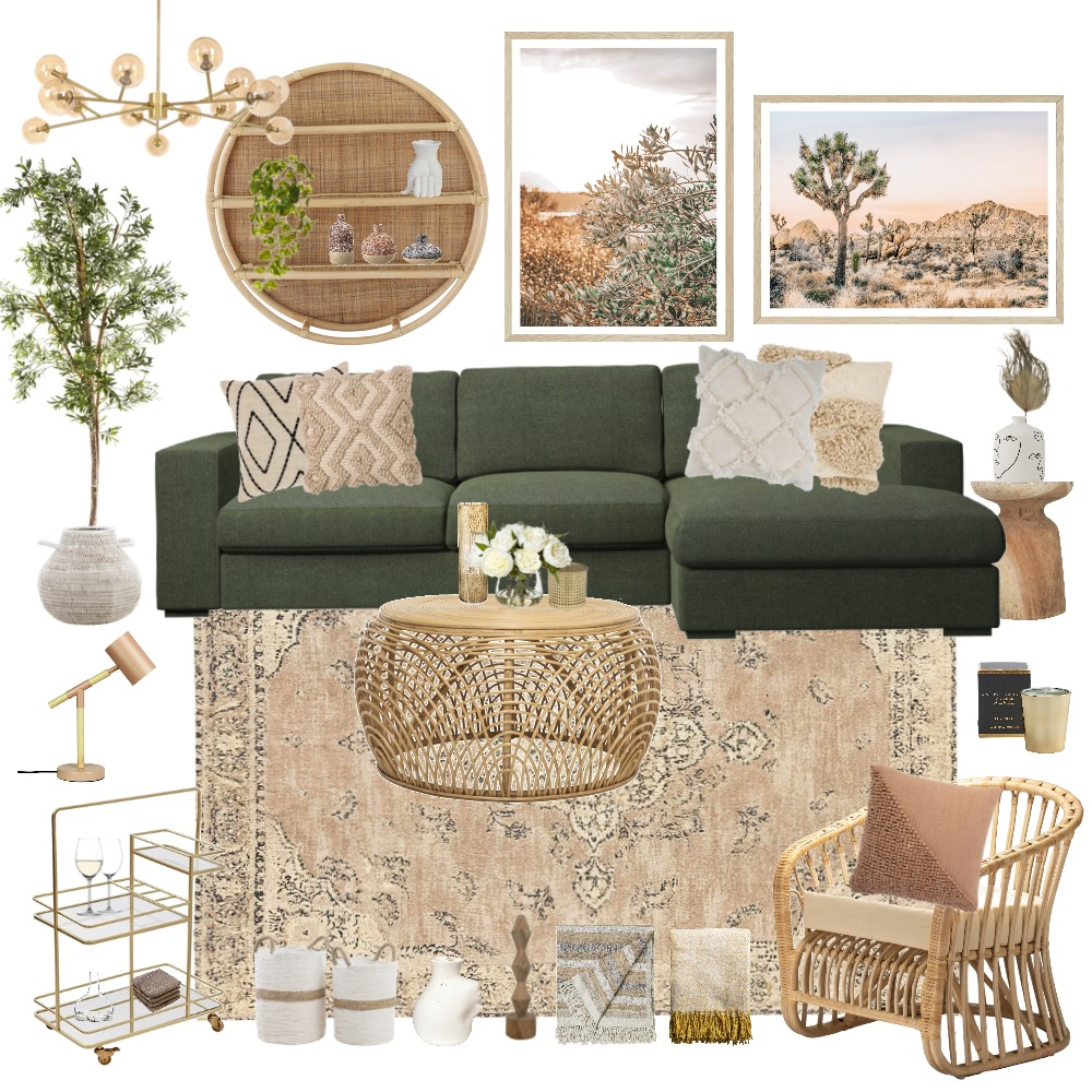A vision of nature Interior Design Mood Board by Happy Nook Interiors on Style Sourcebook