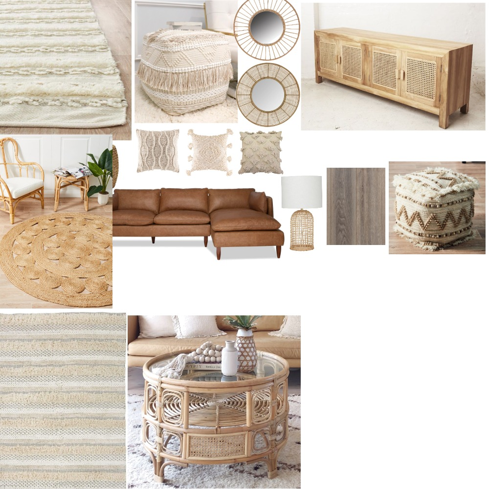 Living Interior Design Mood Board by zoelarsen on Style Sourcebook