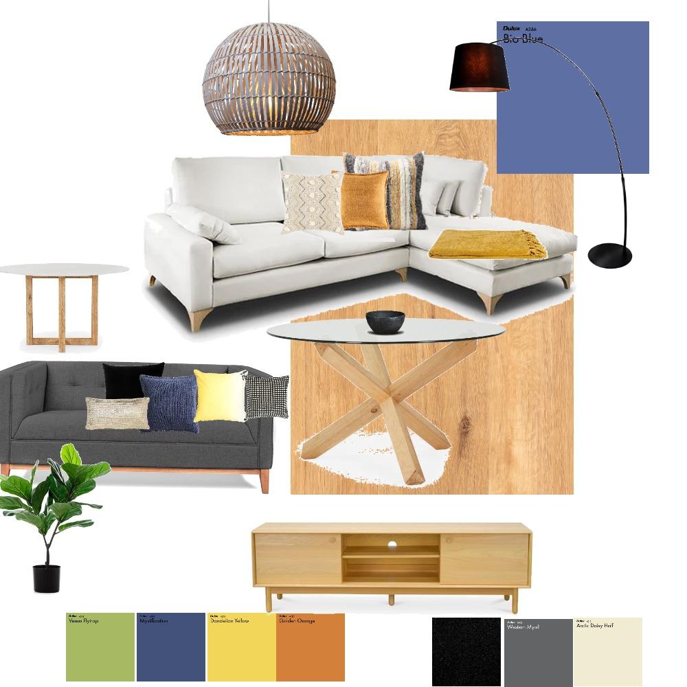 Mood Board Living Interior Design Mood Board by vimoraes on Style Sourcebook