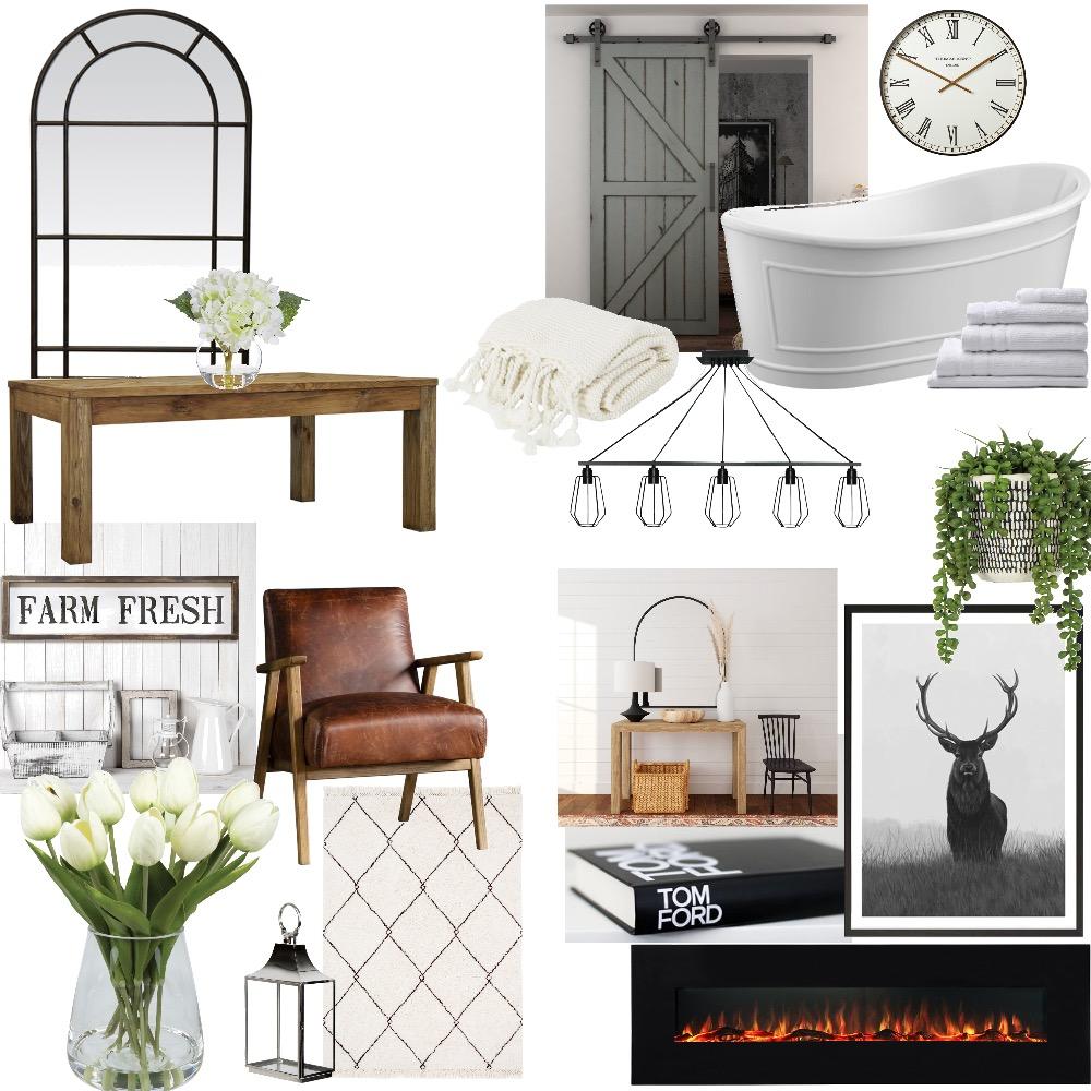 FARMHOUSE Interior Design Mood Board by LyndseyR23 on Style Sourcebook