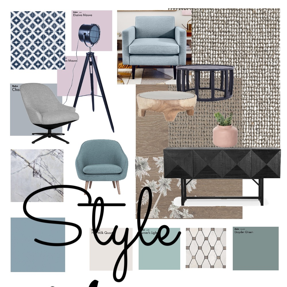 Living Interior Design Mood Board by Nappart on Style Sourcebook
