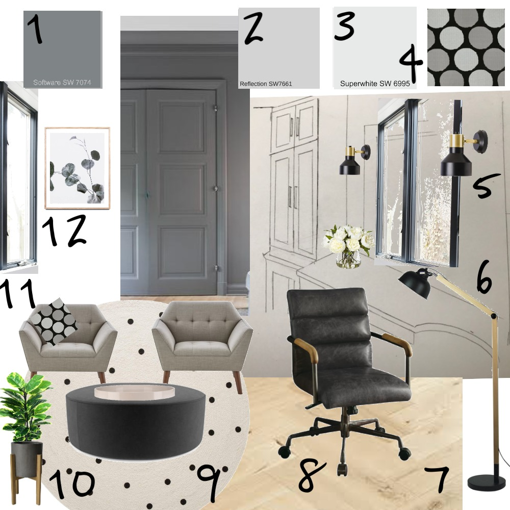 Study1 Interior Design Mood Board by RitaPolak10 on Style Sourcebook